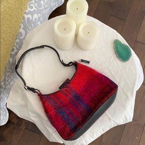 Rare COACH Faux Fur Shoulder Bag